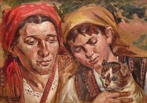 Wincenty Wodzinowski (1866 Igołomnia k. Miechowa - 1940 Kraków), Kobiekty z kotem