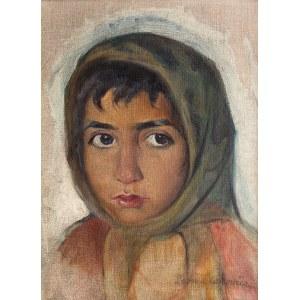 Leon Lewkowicz (1888 Rawa Mazowiecka - 1950 Czimkent/Kazachstan), Portret dziewczynki