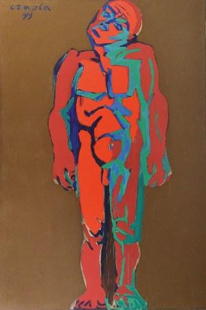 Marian CZAPLA (1946-2016), Wyrok, z cyklu: Ecce Homo, 1991-1999