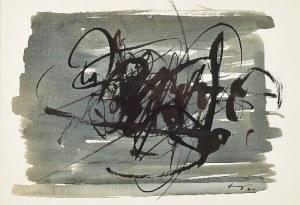 Ireneusz PIERZGALSKI (1929-2019), Bez tytułu - obraz dwustronny, 1961