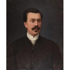 Kazimierz MIRECKI (1830-1911), Portret mężczyzny, 1892