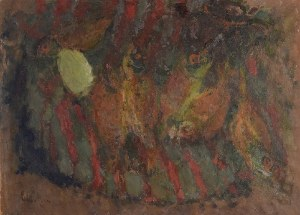 Eugeniusz EIBISCH (1896-1987), Martwa natura z rybami, ok. 1950