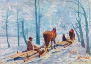 Alfred TERLECKI (1883-1973), Po drzewo do lasu