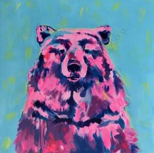 Joanna Jamielucha, Różowy niedźwiedź(2019)