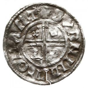 denar typu crux 991-997, mennica Northampton, mincerz B...
