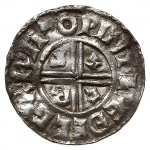 denar typu crux 991-997, mennica Winchester, mincerz Ae...