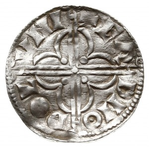 denar typu quatrefoil z lat 1018-1024, mennica Londyn, ...
