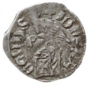 dinar, Aw: Tarcza herbowa, IONS RADOLUS UAIUA, Rw: Orze...