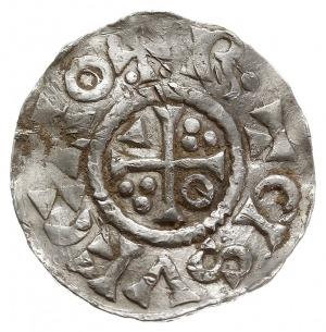denar 1009-1024, mincerz Ag (ECHO), Aw: Popiersie w pra...