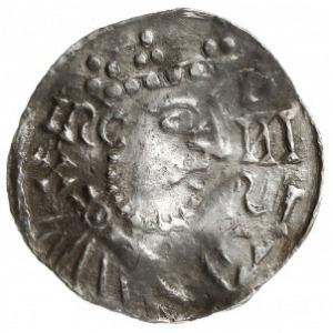 denar 1009-1024, mincerz Id (IZO), Aw: Popiersie w praw...
