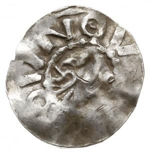 naśladownictwo denara saksońskiego Bernarda I lub II z ...