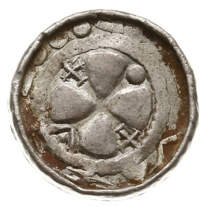 denar krzyżowy dewenterski, typ IV, Aw: Litera S między...