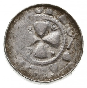 denar krzyżowy z proporcem, typ VI, Aw: Krzyżi proporz...