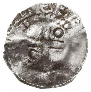 denar X w., Aw: Głowa w lewo, ... EX, Rw: Krzyż z kulka...