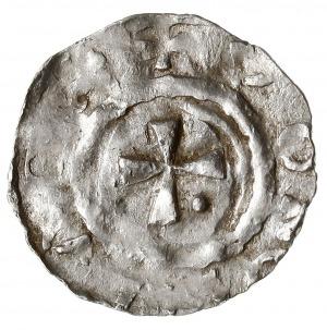denar Krzyż z kulką w kącie / Krzyż, Dbg 902a, Kluge 25...