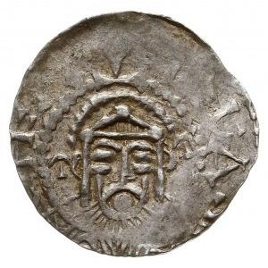 denar naśladujący histamenona bizantyjskiego Jana I Tzi...