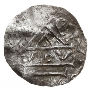 denar typu bawarskiego, łączący również elementy monet ...