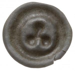 brakteat guziczkowy 2. poł. XIV w., Trójlistna rozeta (...