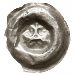brakteat XIII / XIV w., Trzy lilie połączone w gwiazdę,...