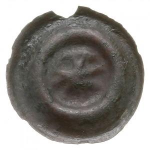 brakteat guziczkowy, początek XIV w., Gwiazda ośmiorami...