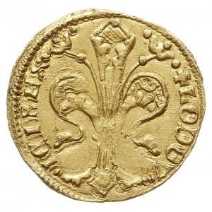 goldgulden (floren) z lat 1342-1353, mincerz Lorand, Aw...