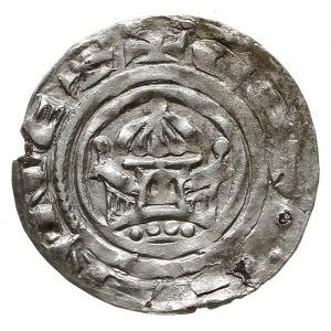 denar z lat 1187-1190, Szczecin, mincerz Eilbert, Aw: K...