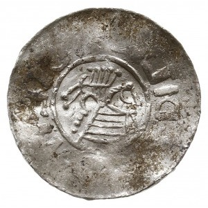 naśladownictwo denara anglosaskiego Aethelreda lub Knut...