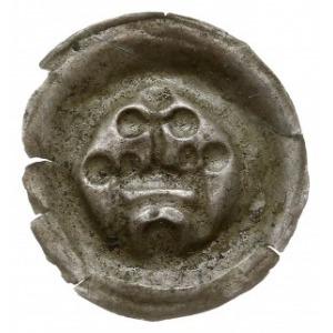 brakteat z lat ok. 1257-1268, Brama z łukowatym prześwi...