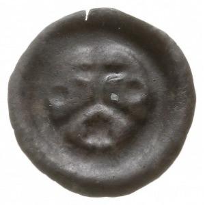 brakteat z lat ok. 1277-1288, Krzyż na arkadzie, po bok...