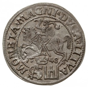 grosz na stopę polską 1548, Wilno, Ivanauskas 5SA4-2, d...