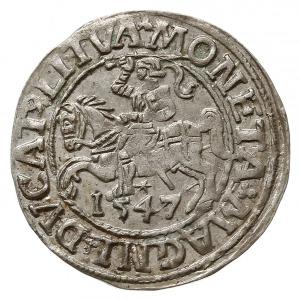 półgrosz 1547, Wilno, Cesnulis-Ivanauskas 4SA34-12, bar...