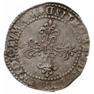 1/2 franka 1587/D, Lyon, Duplessy 1130, bardzo ładny po...