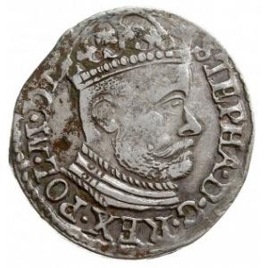 trojak 1583, Olkusz, odmiana z literami I-D przedzielon...