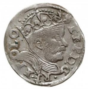 trojak 1585, Poznań, odmiana z dużą głową króla, Iger P...