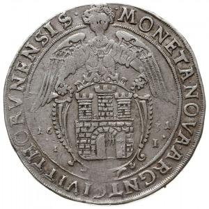 talar 1631, Toruń, Aw: Półpostać króla w prawo i napis ...
