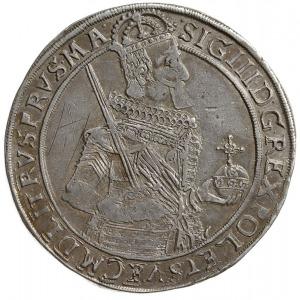 talar 1632, Toruń, Aw: Półpostać króla w prawo i napis ...