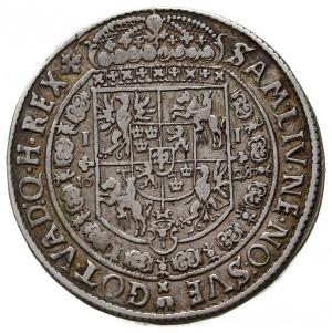 półtalar 1628, Bydgoszcz, Aw: Popiersie króla i napis w...