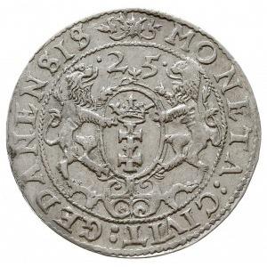 ort 1625 Gdańsk, rzadsza odmiana z literą P kończącą na...