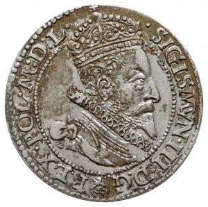 szóstak 1599, Malbork, odmiana z większą głową króla, p...