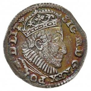 trojak 1590, Olkusz, Iger O.90.3.f (R1), bardzo ładny