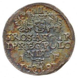 trojak 1592, Olkusz, Iger O.91.7.b (R2), rzadki
