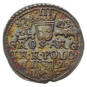 trojak 1599, Olkusz, Iger O.99.1.i