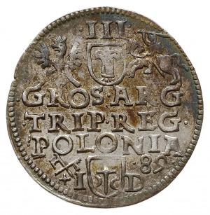 trojak 1589, Poznań, Iger P.89.1.a