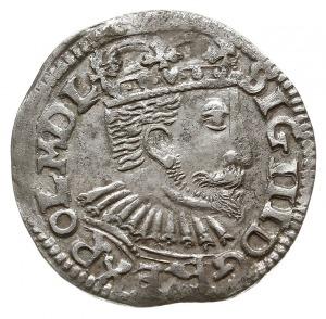 trojak 1595, Poznań, odmiana z dużą głową króla, Iger P...