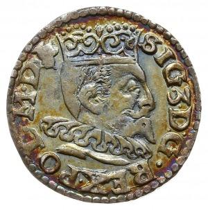 trojak 1596, Lublin, Iger L.96.5.d/a (R), bardzo ładny