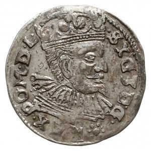 trojak 1597, Lublin, Iger L.97.19.-/a (R3), rzadki typ ...