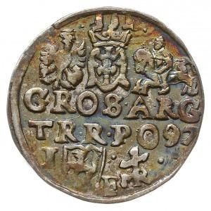 trojak 1597, Lublin, Iger L.97.25.b (R1), moneta z aukc...