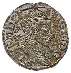 trojak 1598, Lublin, Iger L.98.4.i (R), bardzo ładny