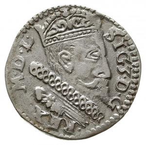 trojak 1600, Lublin, typ popiersia króla z kryzą, odmia...