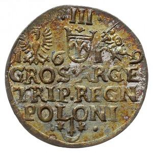 trojak 1619, Kraków, Iger K.19.1.a, piękny